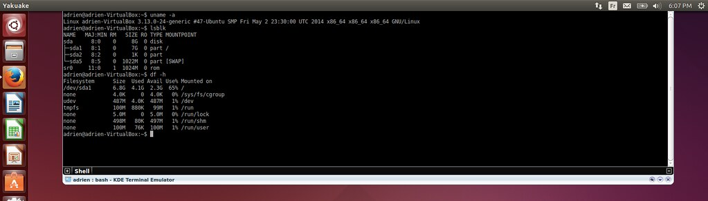 Linux Terminal - Yakuake | What is a good terminal emulator