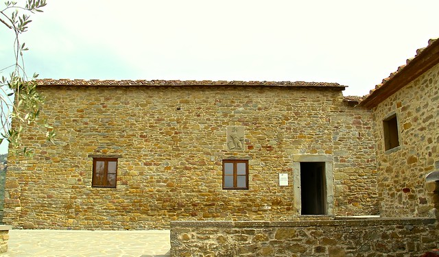 Birthplace of Leonardo Da Vinci, Casa Natale Di Leonardo Da Vinci, Tuscany, Italy.