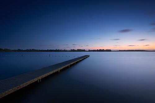 longexposure blue sunset color evening silent bluehour valkenburgsemeertje