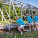 Bjarne Holding Up The Bridge,, Hagan Park, Rancho Cordova CA (C65_2101-2103-LR-PS-NS-TL) by Pedro Marenco Images