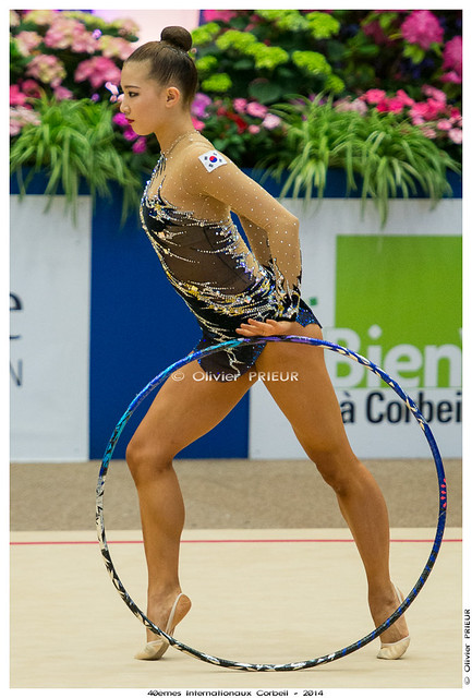 Su Lin LEE (KOR), Qualification 40ème Internationaux GR Corbeil Essonne