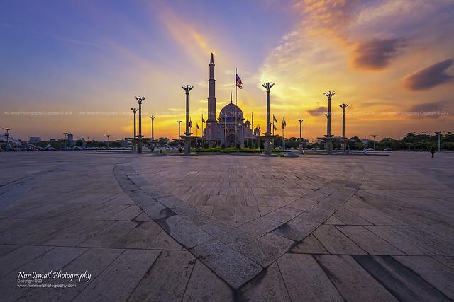 Sunset at Masjid Putra
