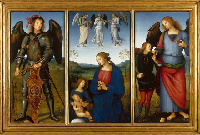 Perugino - Certosa triptych (1499)