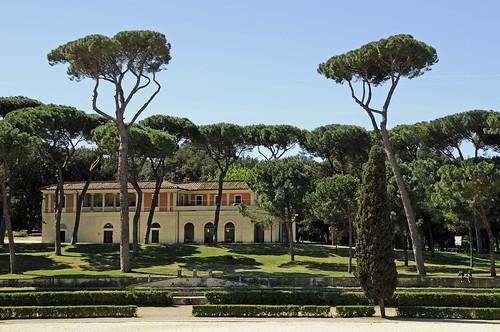 Villa Borghese Gardens 1   by Son of Groucho