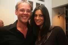 Manuela Arcuri e Alberto