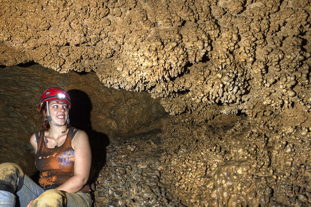 Popcorn, Jena Gray, Fox Hole Cave, Van Buren Co, TN