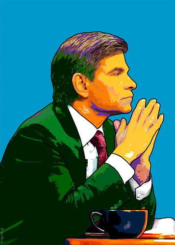 George Stephanopoulos - Illustration, From CreativeCommonsPhoto