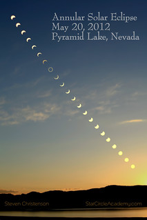 Annular Eclipse Sequence [C_040079+5s]   by Steven Christenson