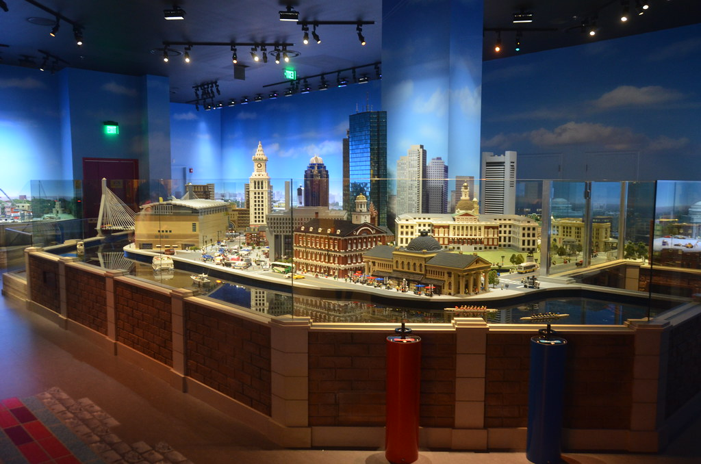 Legoland Somerville (Boston), preview weekend: Miniland ov ...