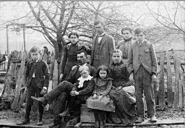 My Honorary Great-Grandmother, Lillie Eyestone Wimmer (Back Row, Second from Right), Circa 1895