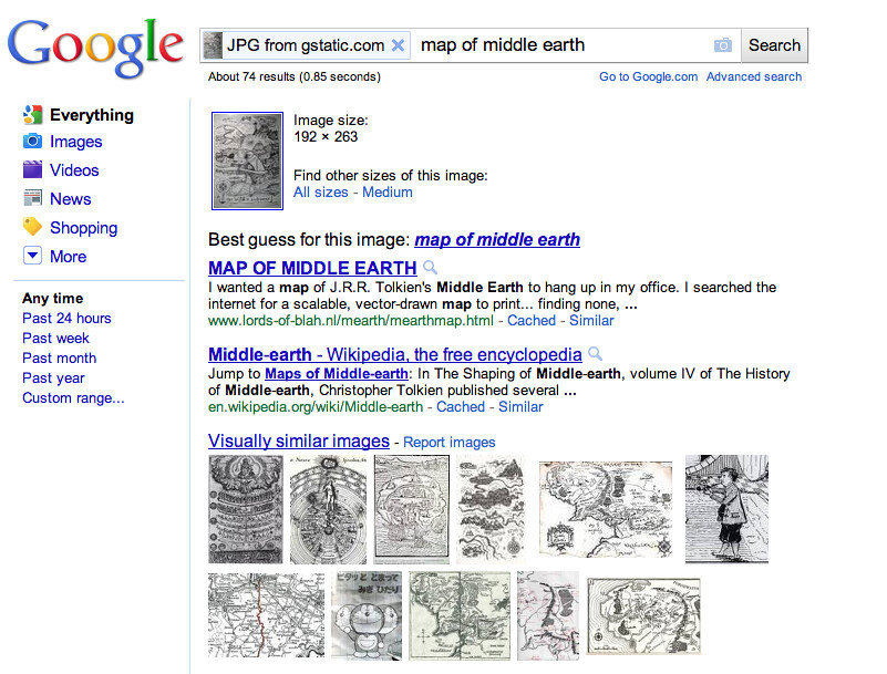 Best guess for this image: map of middle earth | result of d… | Flickr