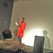 julie Patton Exit Art August 2010 on my cell phone