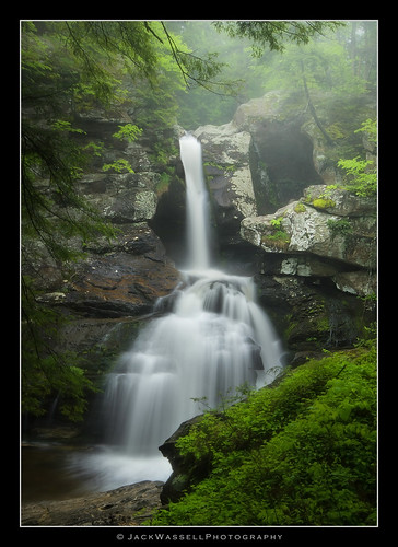 trees mist green water rain fog waterfall spring rocks sigma1020mm kentfalls kentconnecticut jackwassell
