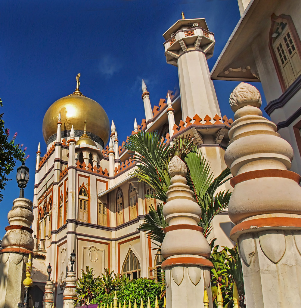 The Masjid Sultan Mosque, Singapore | Sultan Mosque was firs… | Flickr