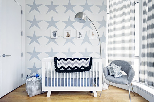 Blue Baby Nursery | by Paintzen