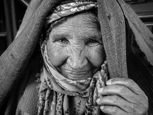 Old Local Woman, Erzurum