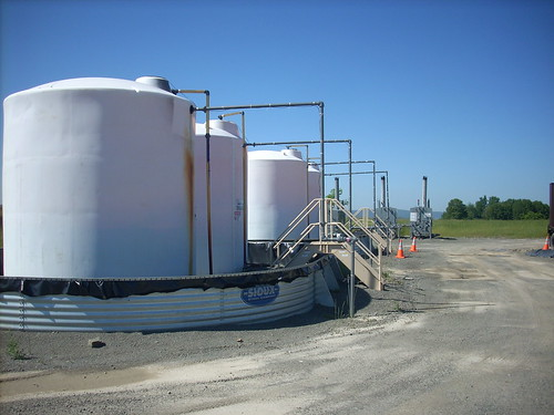 Gas well tanks | by Gerry Dincher