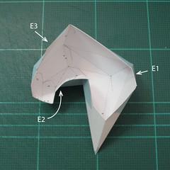 วิธีทำโมเดลกระดาษตุ้กตาคุกกี้รัน คุกกี้รสจิ้งจอกเก้าหาง (Cookie Run Nine Tails Cookie Papercraft Model) 012