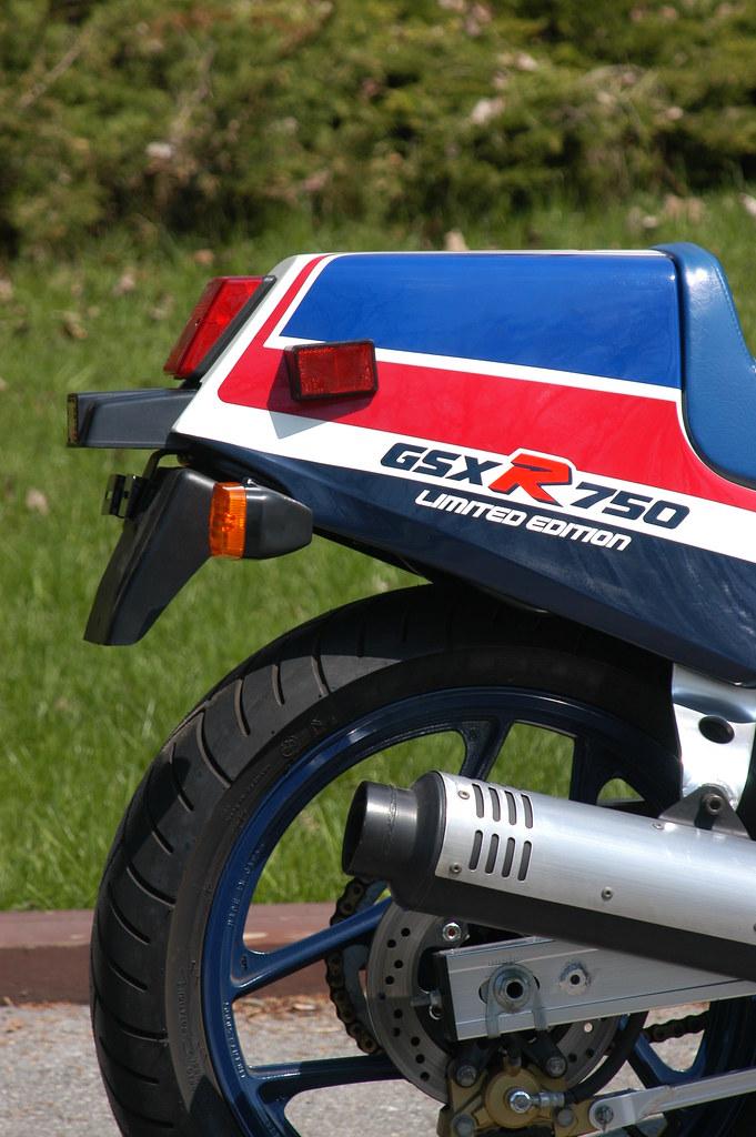 1986 Suzuki GSXR 750 Limited - SOLD | 1986 Suzuki GSXR 750 L