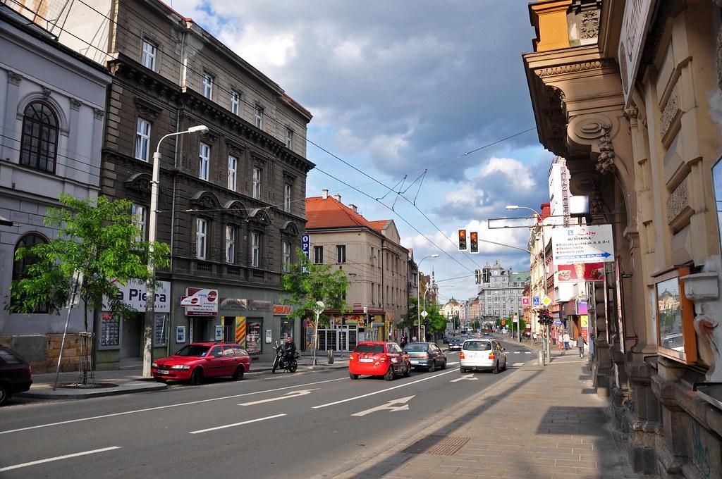 bDSC_6654 | Amerika Street, Pilsen, Czech. The street is