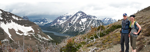 Views along the trail to Scenic Point, Glacier National Park, Montana