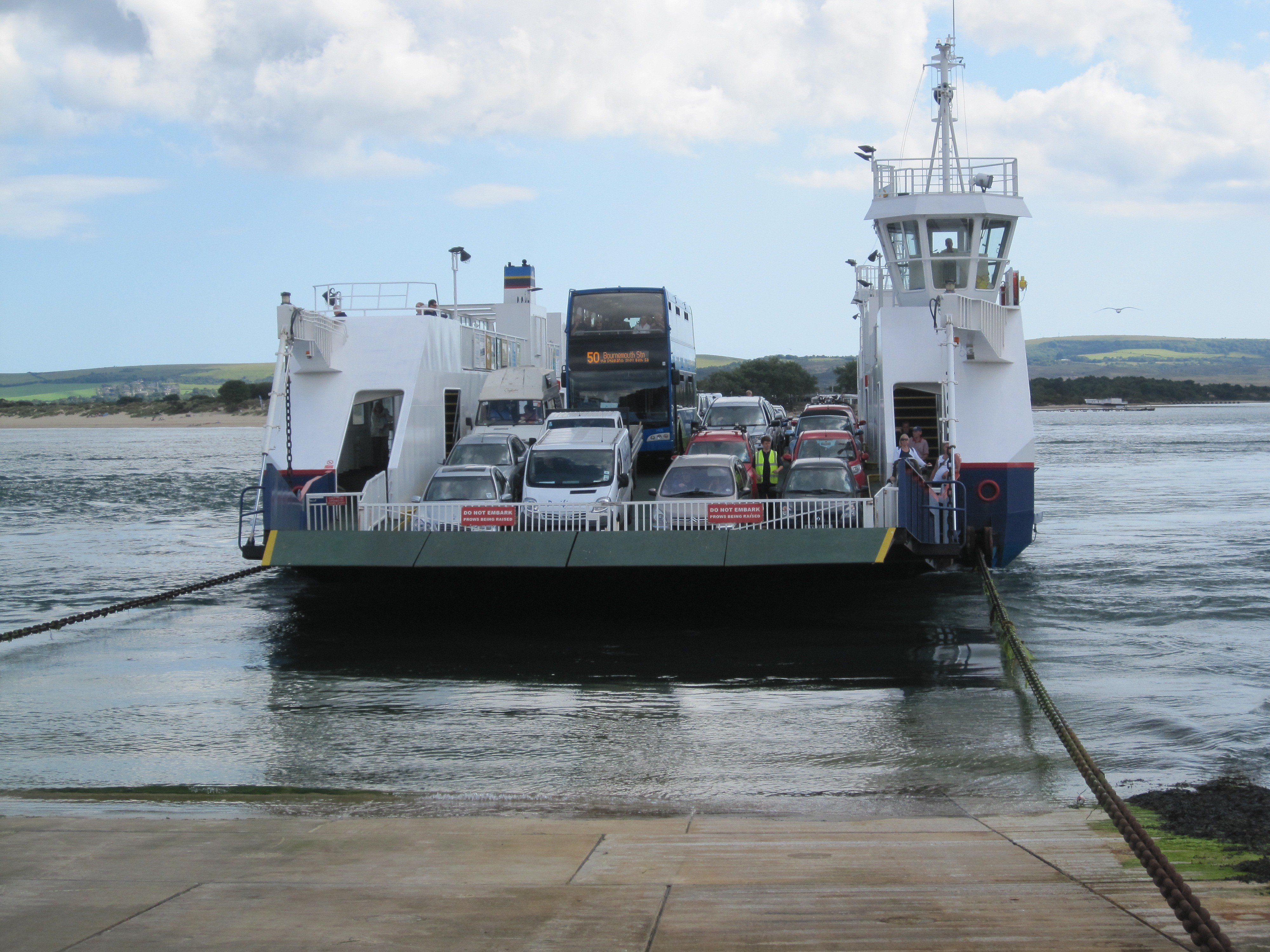 Sandbanks Chain Ferry