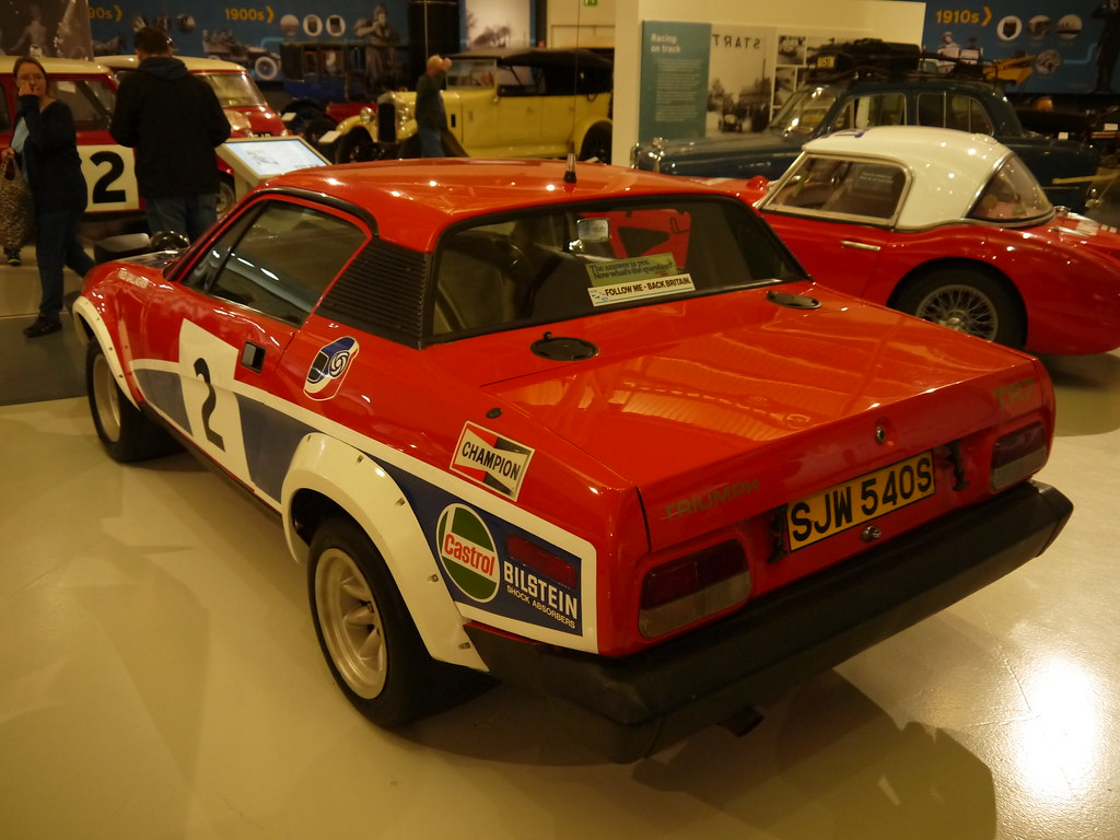 1978 Triumph Tr7 V8 Rally Car There Are Many Things To Que Flickr