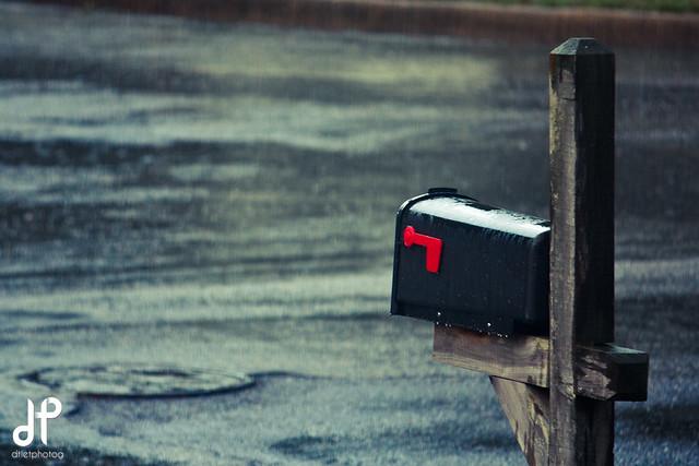 Rainy Mailbox