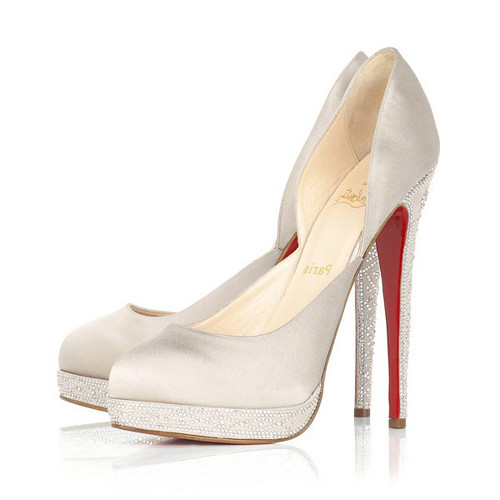 Louboutin Wedding Shoes.Christian Louboutin Wedding Shoes Stain Almond Toe Flickr