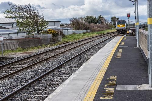 Train Approaching Balbriggan Station   by infomatique