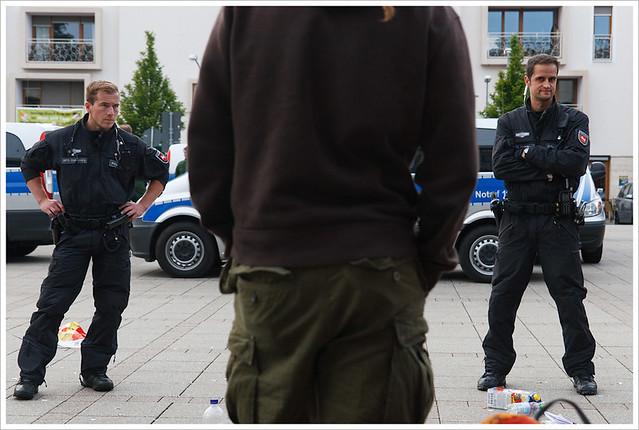 #blockupy Day 1 : Eschborn verboten