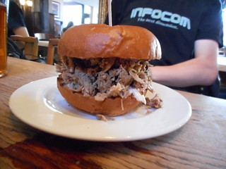 Pulled Pork in a brioche bun | by rjw1