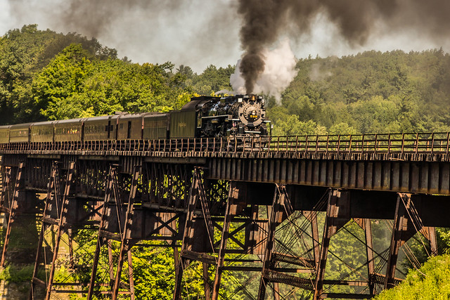 Nickel Plate 765, High Bridge, Letchworth State Park