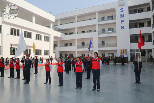 Students of Sant Nirankari Public School ready to March Pass