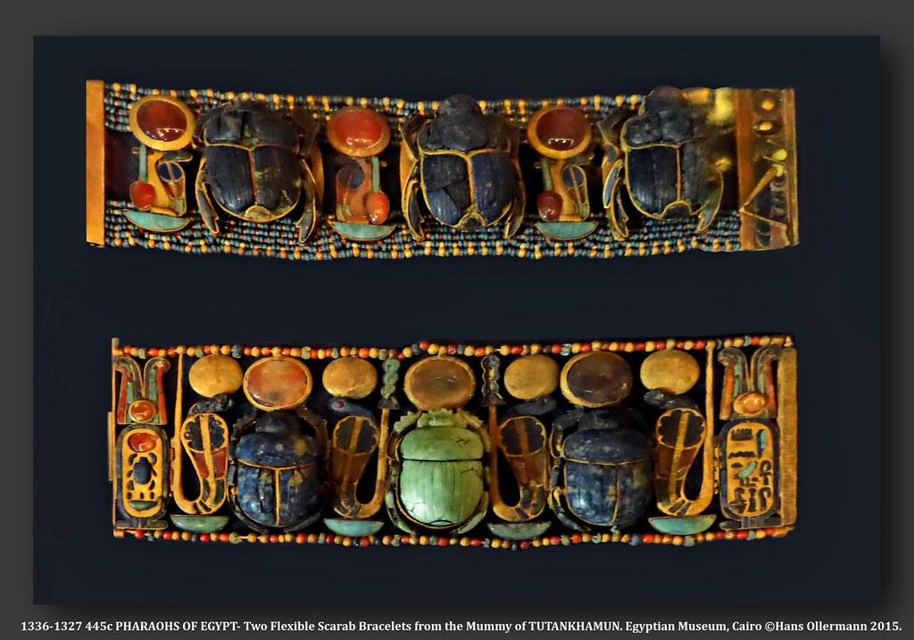 ancient egyptian gold bracelet