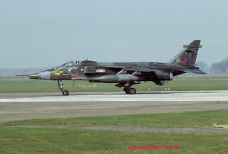 Sepecat Jaguar GR.1 XX963 AL 14 Sqn 25-03-82   by phantomfgr2
