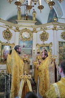 Литургия в Покровском соборе 170