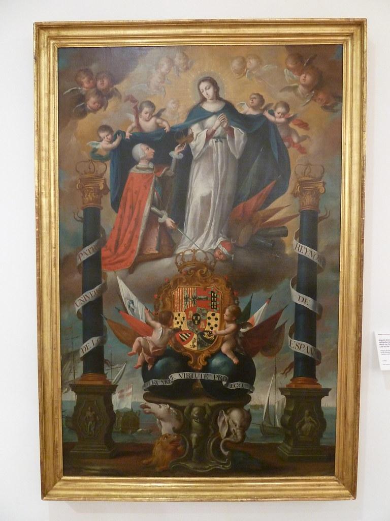 Alegoría De La Consagración De Los Reinos De España A La Flickr
