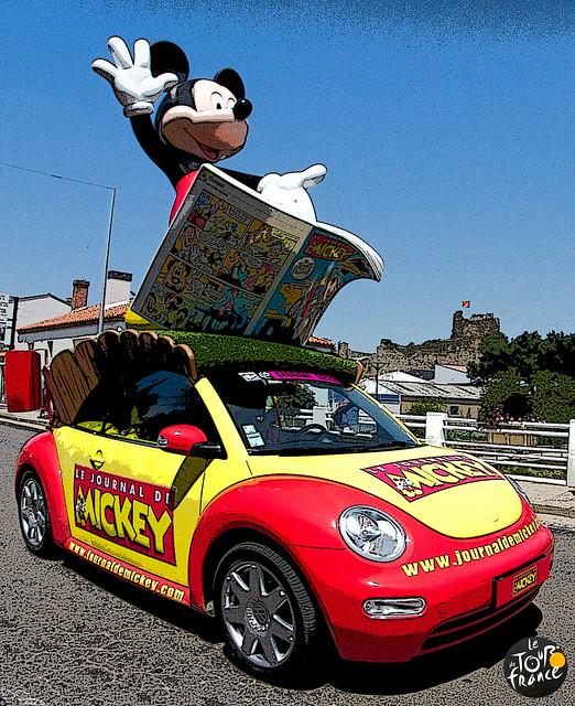 Tour de France - Mickey