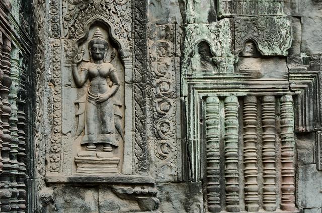 Apsara Carving at Ta Prohm