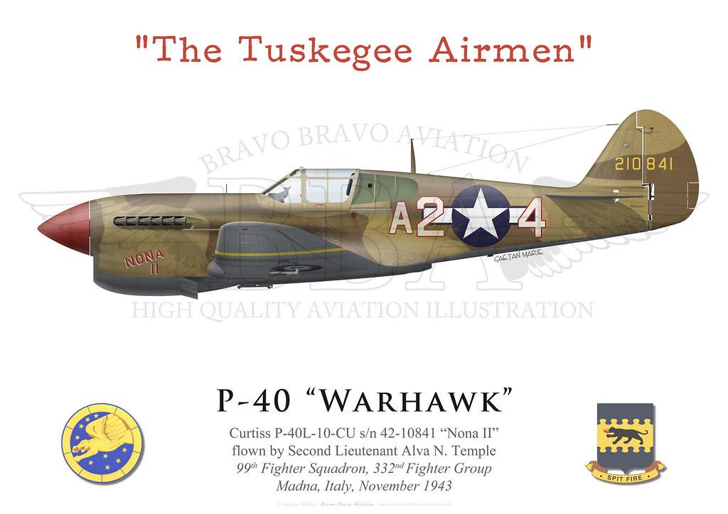 """P-40 """"Warhawk""""   Curtiss P-40L-10-CU s/n 42-10841 """"Nona II"""" …   Flickr"""