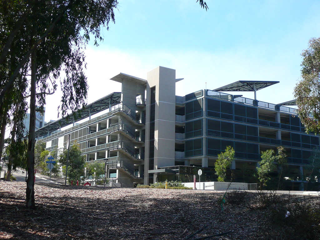 San Diego Ca Ucsd Hopkins Parking Structure Solar