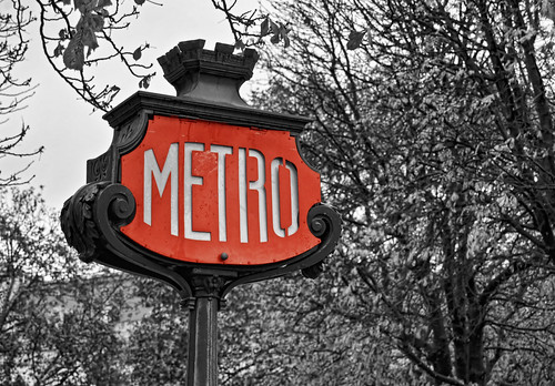 Paradas de metro parisinas | by Héctor Rodríguez Maciá