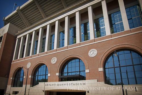 Bryant-Denny Stadium - South End Zone