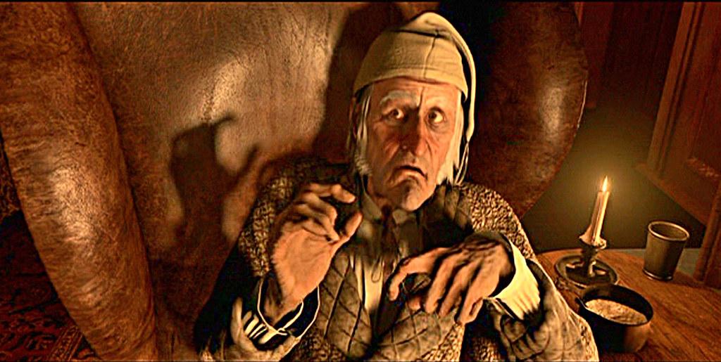 ... Ebenezer Scrooge!
