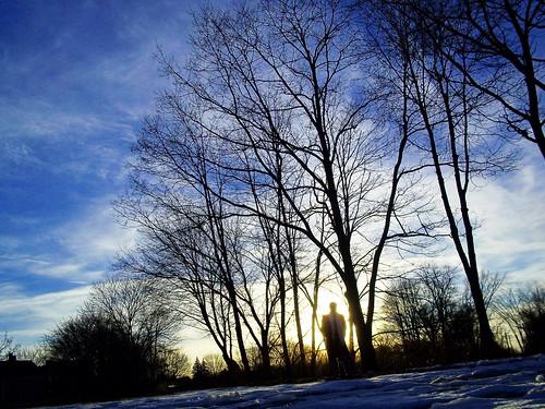 trees gay sunset portrait sky sun selfportrait man clouds sundown bokeh project365 davidsullivan davidnewengland