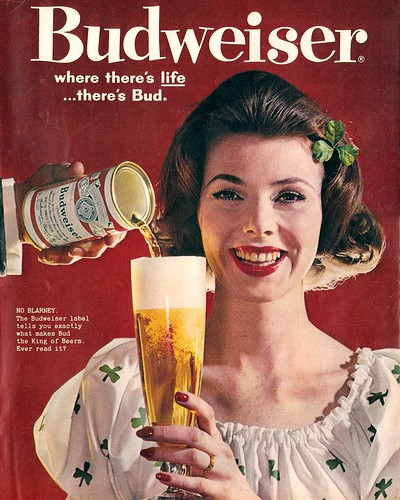 1960 Budweiser Beer ad Look Magazine | by Mr. Beaverhousen