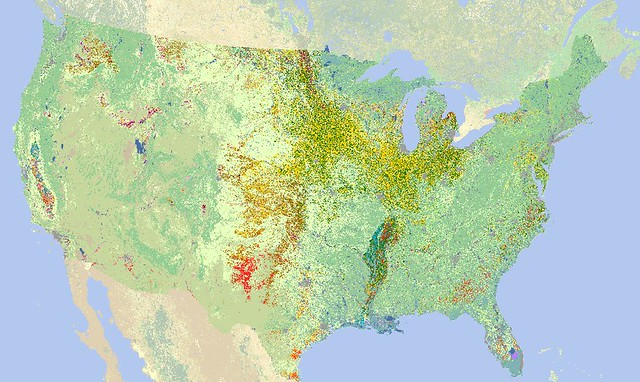 United States Cropland Data Layer Map