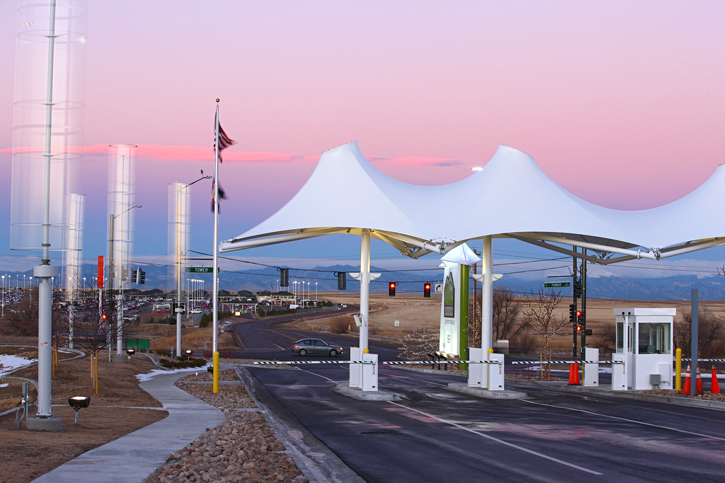... Entrance to Canopy Airport Parking | by Skanderbeg Capital & Entrance to Canopy Airport Parking | Canopy Airport Parking u2026 | Flickr