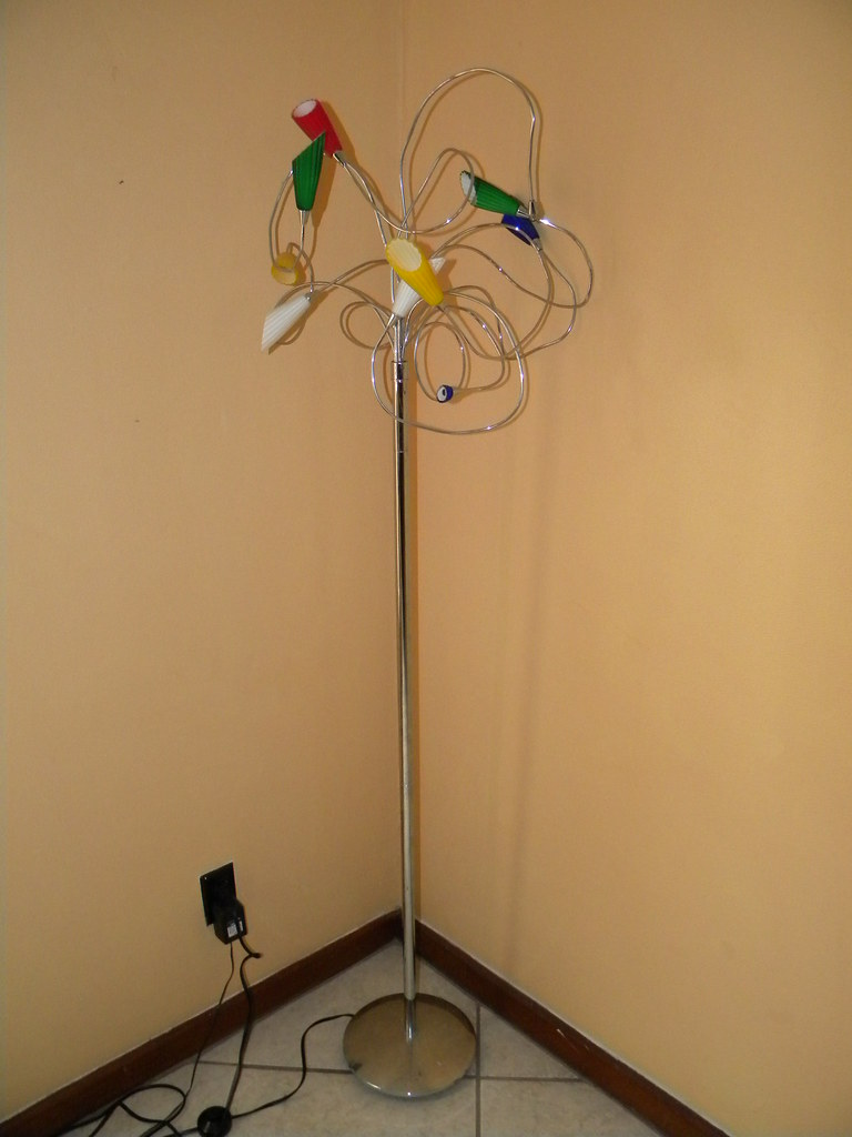 Tree Branch Floor Lamp Each Branch Is Adjustable To Which